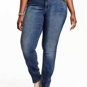 Old Navy Women's Original Straight Jeans Plus Size